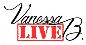 logo Vanessa B. Live - Fond blanc