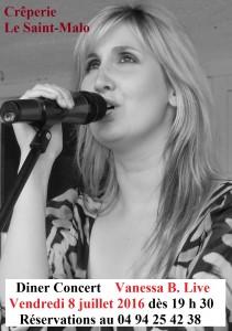 Chanteuse - Six Fours - Creperie le St Malo