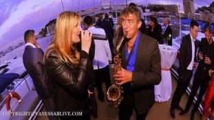 Duo Chanteuse & Sax - Soirée d'Entreprise Yacht - Monaco